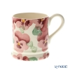 Emma Bridgewater / Earthenware 'Pink Pansy (Flower)' Mug 284ml
