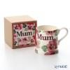 Emma Bridgewater pink Pansy 18 SS Mummy mug 340 cc