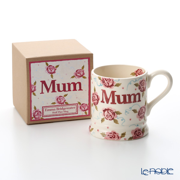 Emma Bridgewater Tiny Scattered Rose, Mum 1/2 Pint Mug 340 cc