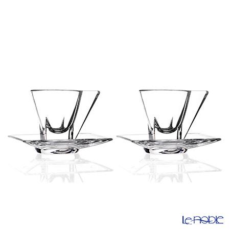 RCR Home&Table フュージョン エスプレッソカップ&ソーサー 70cc ペア