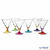 RCR Home & Table 'Riflessi - Color' Ice Cream Goblet 300ml (set of 6 colors)