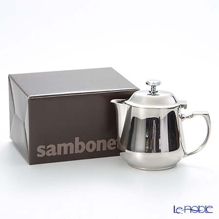 Sambonet Elite stainless steel 18/10 Teapot, 17-1/2 Oz. 56008-05