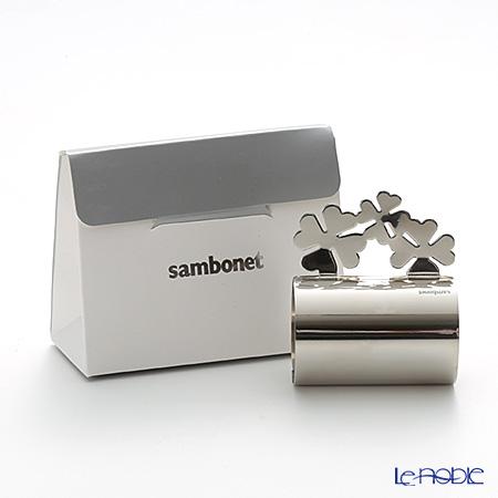 Sambonet Party gifts Napkin holder Four-leaf clover 56533-04
