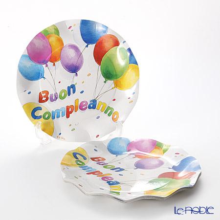エクスクルーシブ Buon Compleanno(Happy Birthday) EX41HH ラージプレート 27cm 10枚