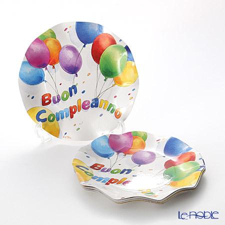 エクスクルーシブ Buon Compleanno(Happy Birthday) EX43HH スモールプレート 21cm 10枚