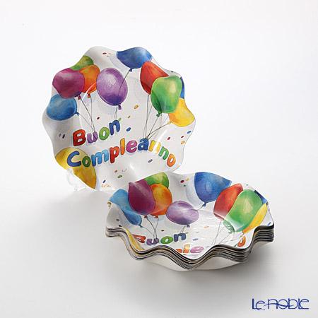 エクスクルーシブ Buon Compleanno(Happy Birthday) EX46HHスモールボウル 18.5cm 10枚