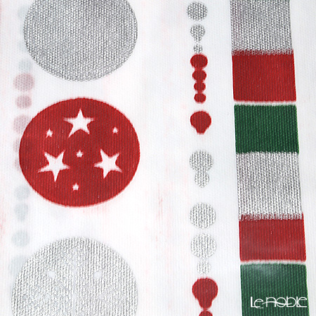 Exclusive Trade 'Happy Christmas' EX20KH [Non-woven Fabric]  Table Cloth 140x240cm