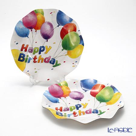 エクスクルーシブ Happy Birthday EX43HH スモールプレート 21cm 10枚