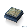 Ercolano Italy art music box (Swan Lake) Monet water lilies pond and Japan bridge