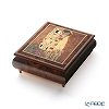 Ercolano Italy art music box (the light of the Moon) Klimt Kiss limited production