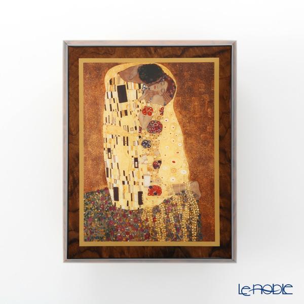 """Ercolano Italy art music box (for ELISE) Kiss""""by Gustav Klimt"""