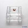 Cre Art Square Small Box, red cameo 4391