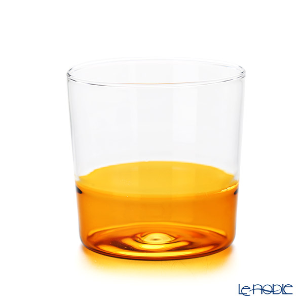 Ickendorf 'Light' Amber Yellow & Clear Water Tumbler