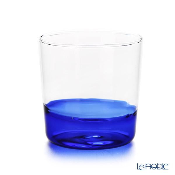 Ickendorf 'Light' Cobalt Blue & Clear Water Tumbler