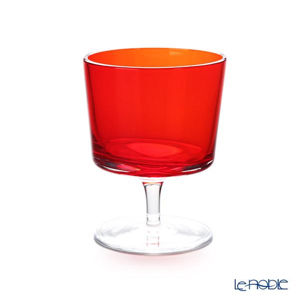 イッケンドルフ オーロラ ウォーターグラス オレンジ