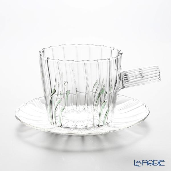 イッケンドルフ グリーンウッド ティーカップ&ソーサー グリーングラス 250cc(満水容量)