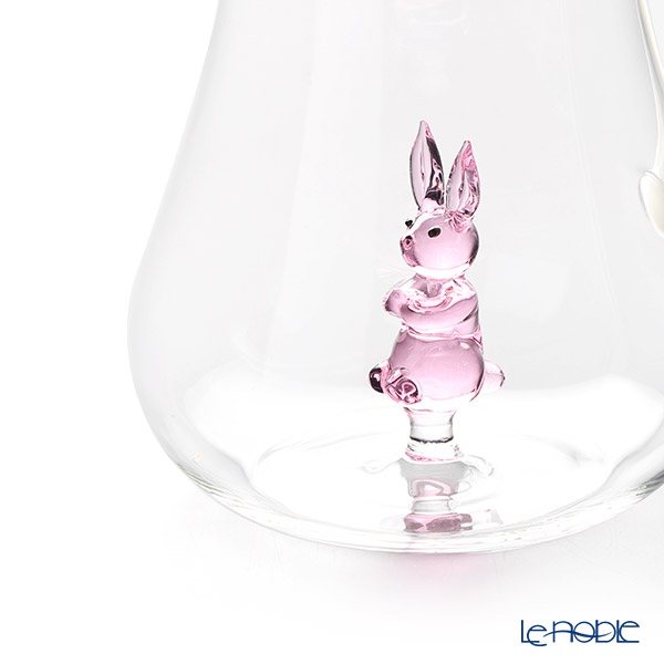 Ichendorf 'Greenwood - Animal Farm / Rabbit' Pink Pitcher Jug