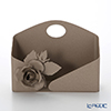 Arti & Mestieri 'Rose Bouquet' Beige Multi Holder 23.5x12.5xH16.5cm