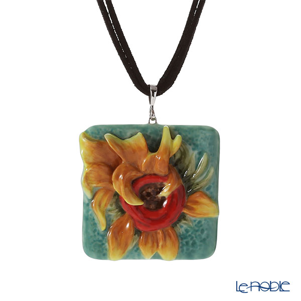 Franz Collection FJ00248 Van Gogh Sunflower Necklace Van Gogh Museum