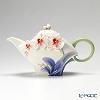 Franz Collection 'Graceful Orchid (Flower)' FZ02690 Sculptured Tea Pot