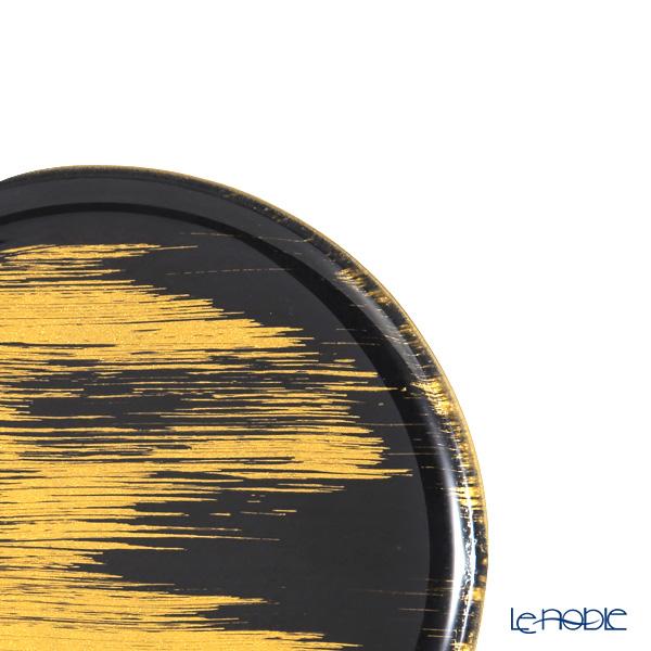 Modern Bohemia Black x Gold Flat Plate / Tray 21cm