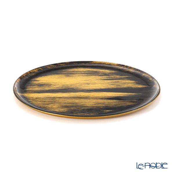 Modern Bohemia Black x Gold Flat Plate / Tray 29cm