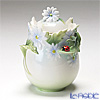 Franz Collection 'Ladybug (Flower)' FZ00401 Sculptured Sugar Pot