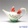 Franz Collection 'Goldfish (Animal)' Red FZ00442 Sculptured Pot