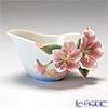 Franz Collection 'Cherry Blossom (Flower)' Pink & Sky Blue FZ01418E Sculptured Creamer