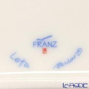 フランツ・コレクション チェリーブラッサムプレート 11×9cm FZ01585C