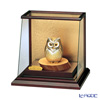 Sterling Silver figurine (Silver999) 3, ramp case OWL gold and silver crafts, traditional craftsman Takehiko old film