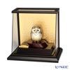 Sterling Silver figurine (Silver999) number 4 ramp case OWL gold and silver crafts, traditional craftsman Takehiko old film