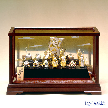 Takehiko 'The Seven Gods of Fortune' [Silver 999] Figurine (set of 7 with display case)