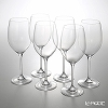 Rona Bordeaux 6605 / 0000 Wine 600 cc H24.5cm 6 pieces