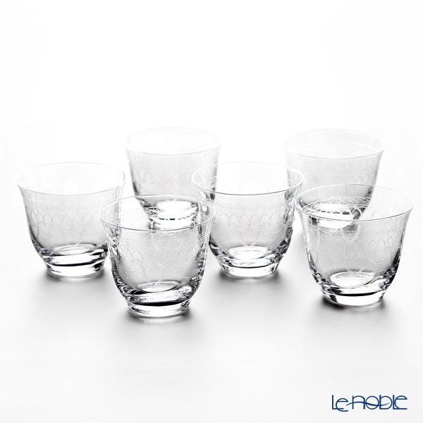 ボヘミア冷茶グラス/デザートカップ ゴシック 6客セット 25207/285715
