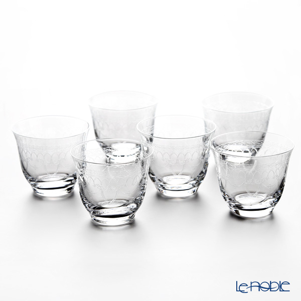 ボヘミア 冷茶グラス/デザートカップ ゴシック 6客セット 25207/285715
