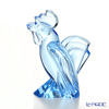 Mosel objet 2927 Chinese zodiac Rooster aquamarine (blue) 11.5 cm