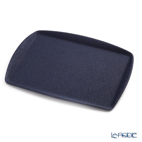 デリア(Deria) トレイ(お盆) 45×32cm ブルー TPS670