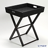 Studio N (Le-noble original) tray table 53 X 44 x 61 cm black TCH59005