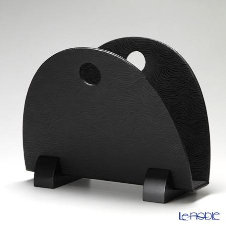 デリア(Deria) マガジンラックブラック 40×23×32cm GZT42005
