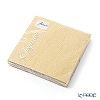 Ambiente 'Embossed - Elegance' Gold AMB4937L [FSC-certified Paper] Paper Napkin 33x33cm (set of 15)
