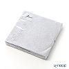 Ambiente 'Embossed - Elegance' Silver AMB4938L [FSC-certified Paper] Paper Napkin 33x33cm (set of 15)