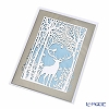 Quire 'Christmas / Winter Forest - Stag' XQR2816 Note Card with Envelope 12x17cm