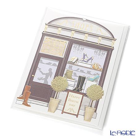 メッセージカード QUIRE社 クワイヤー 11.4×16.3cm(定形サイズ) QR3211 シューズ(Birthday)