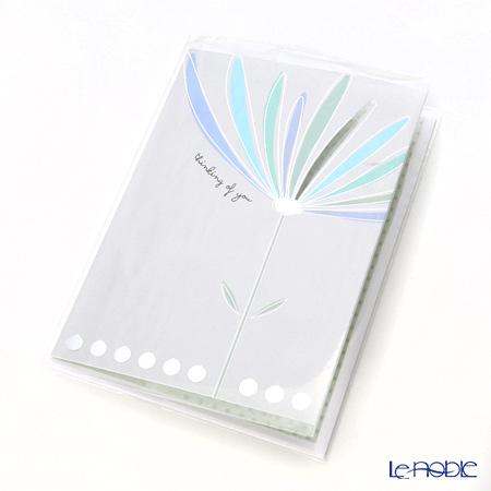 メッセージカード QUIRE社 クワイヤー 11.4×16.3cm(定形サイズ) QR7622 シンキングオブユー(お悔やみ)