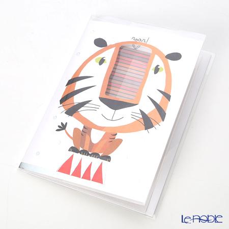 メッセージカード QUIRE社 クワイヤー 11.4×16.3cm(定形サイズ) QR7703 タイガー (Birthday)