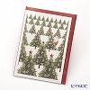 Mini-Card QUIRE's choir 8.9 x 6.5 cm (odd shaped size) XQR9626 Xmas tree & Santa