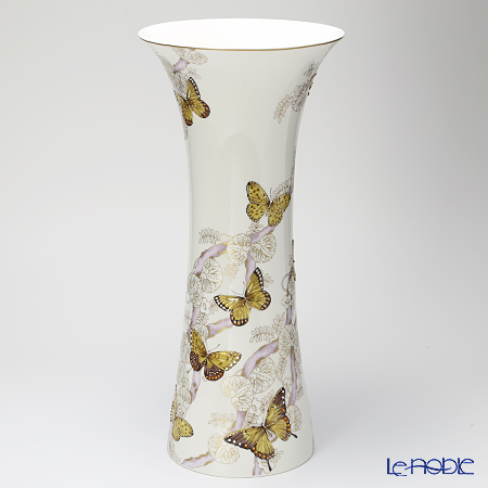 Hankook Chinaware Prouna Jewelry Butterfly Vase, large 54 cm