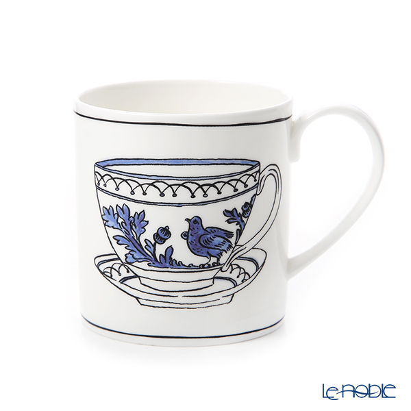 Twig New York Heritage Mug, blue bird