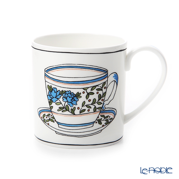 Twig New York Heritage Mug, cornflower